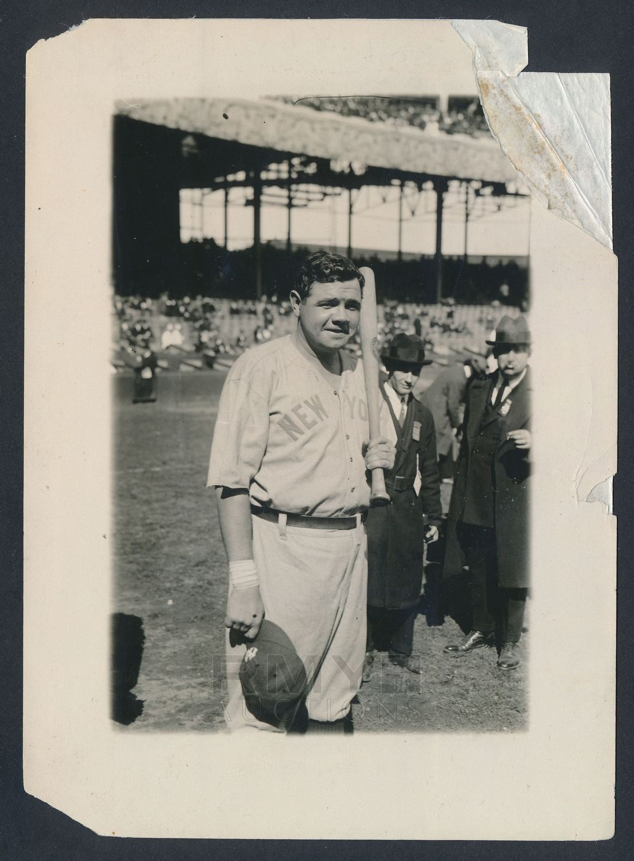 1921 World Series Babe Ruth George Grantham Bain photo