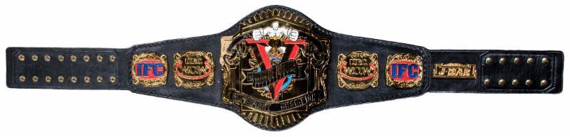 UFC title fight original belt 1995