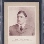 1902 Honus Wagner Sporting Life cabinet baseball card
