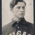 1904 Ed Walsh photo T206 card