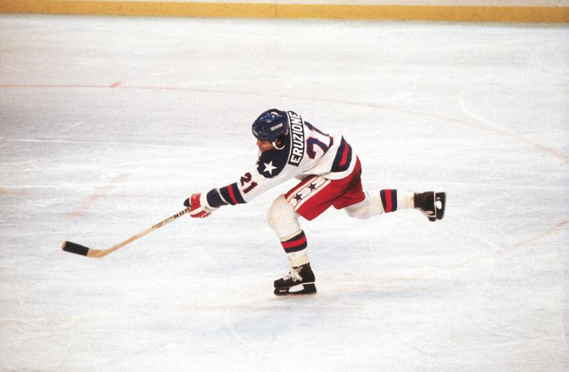 Mike Eruzione 1980 Olympic hiockey