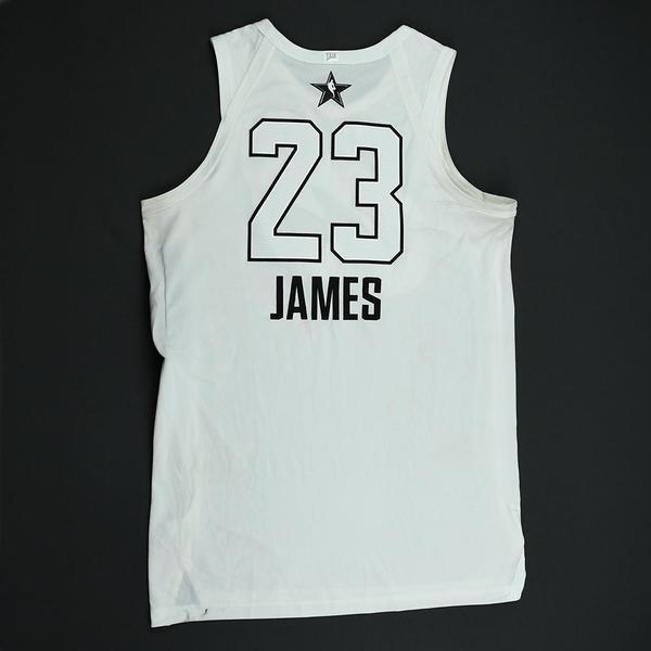 LeBron James game worn All Star jersey 2018