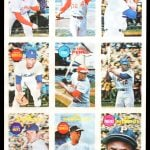Topps 3D cards 1968