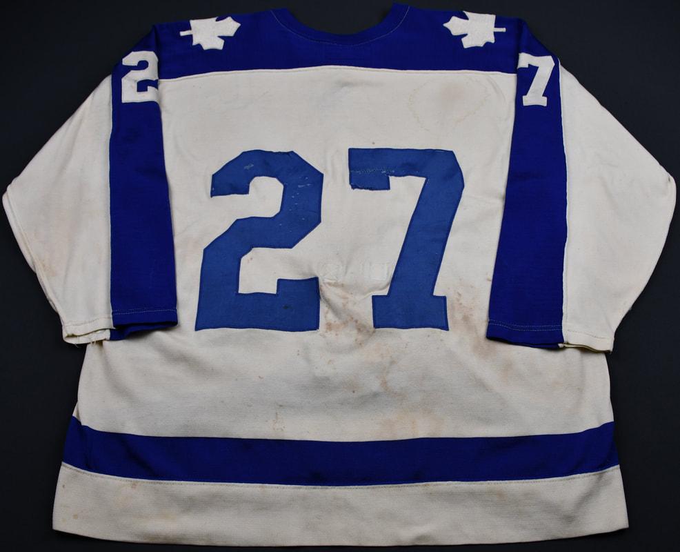 1976 Darryl Sittler jersey Toronto Maple Leafs record