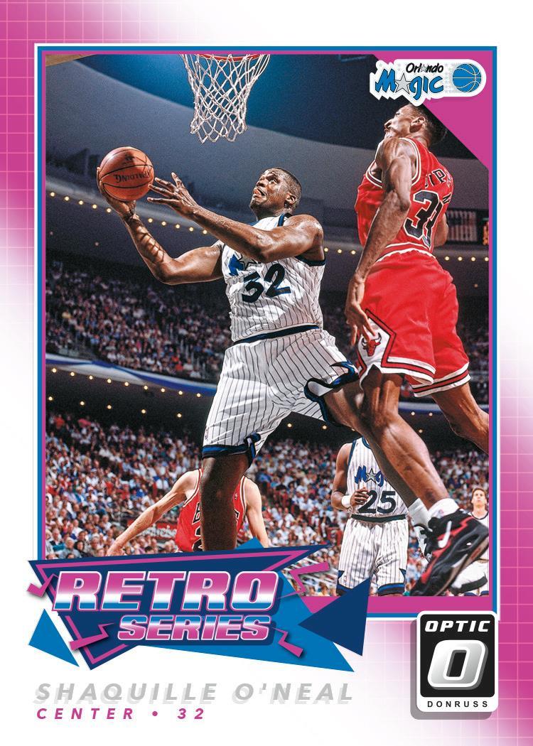 Retro Stars Shaq 2017-18 Donruss Optic basketball