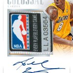 Colossal Jersey autograph card 2017-18 Panini National Treasures basketball