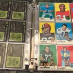 Topps 1969 football cards