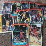 1986 Fleer basketball cards