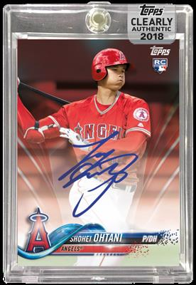 Topps Clearly Authentic 2017 Shohei Ohtani