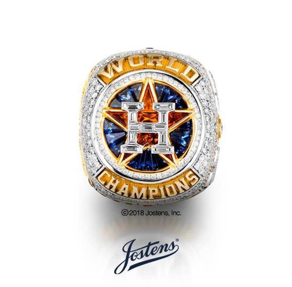 Houston Astros 2017 World Series ring