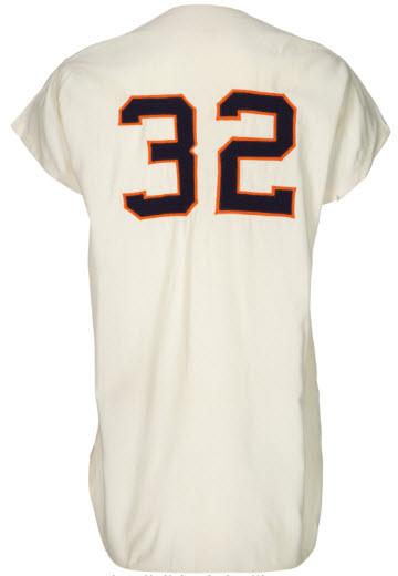 Jim Umbricht game-worn jersey 1963