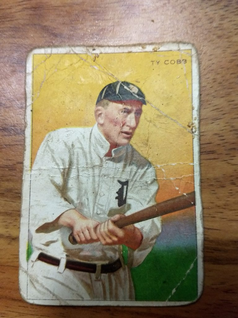 T227 Series of Champions Ty Cobb