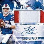 Josh Allen autograph rookie card patch Panini Origins