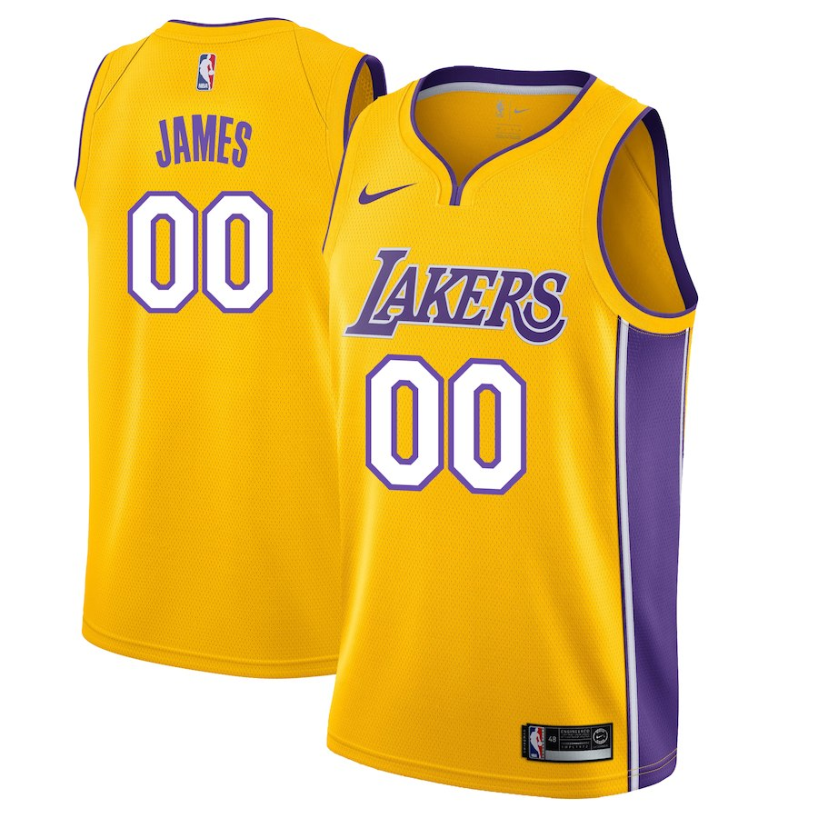 LeBron James Lakers Jerseys Available as Icon Moves West