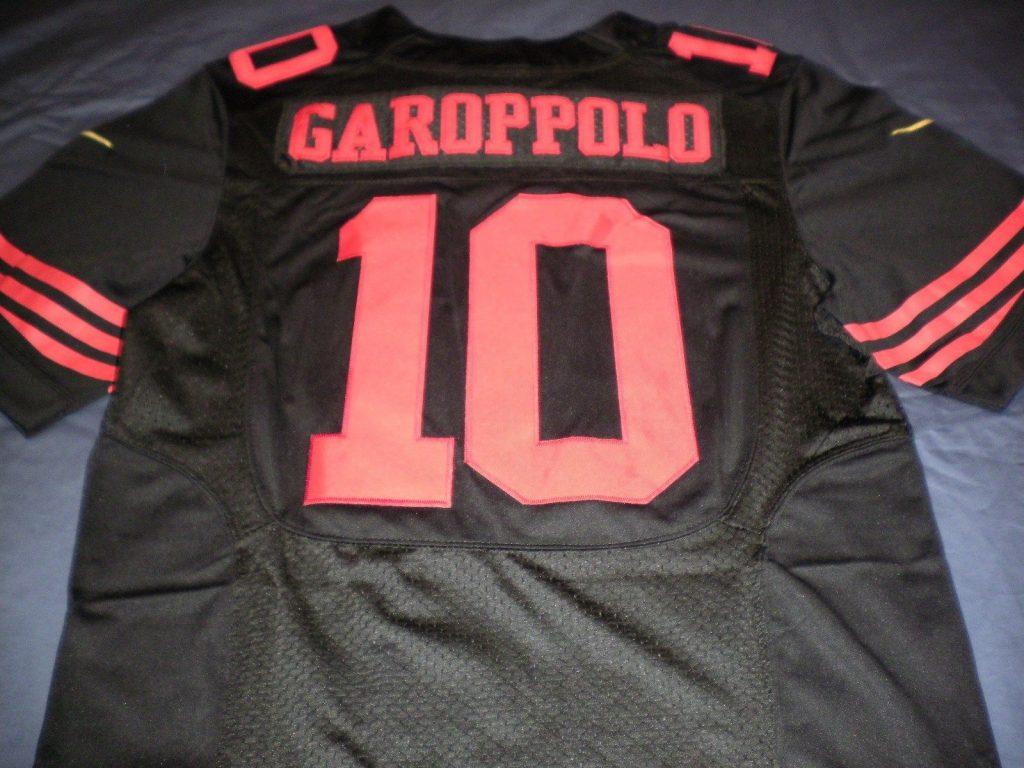 49ers black jersey Jimmy G