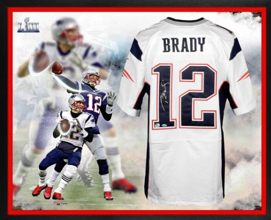 Locating Tom Brady Autographs For Sale Not Hard, But Prices Not Cheap