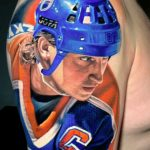 Wayne Gretzky tattoo Shawn Chaulk