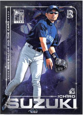 Topps Project 2020 Ichiro Suzuki Card
