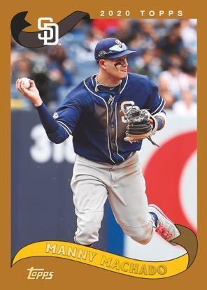 2020 Topps Archives Baseball Manny Machado