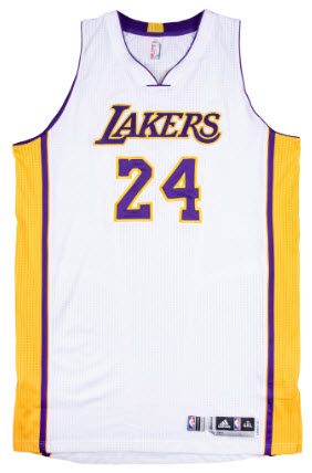 12 Kobe Game-Worn Jerseys Just Part of Goldin Spring Headliners