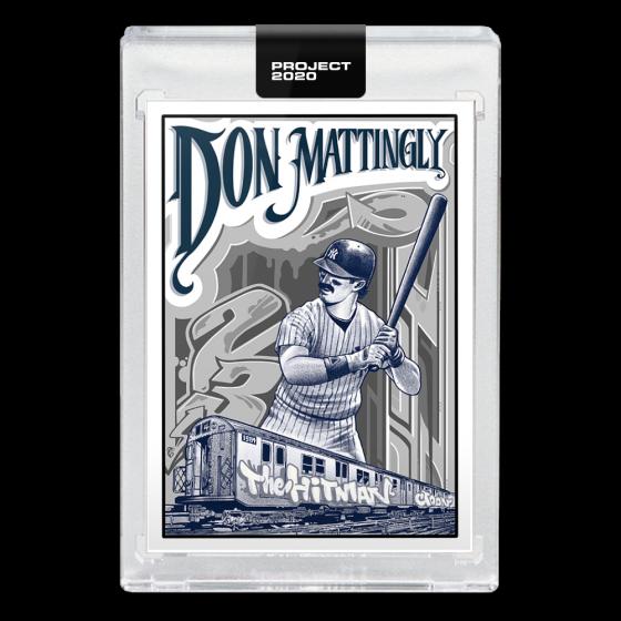 Don Mattingly Baseball Card Project 2020 Topps