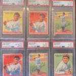 Uncle Jimmy Collection 1933 Goudey autograph cards Babe Ruth