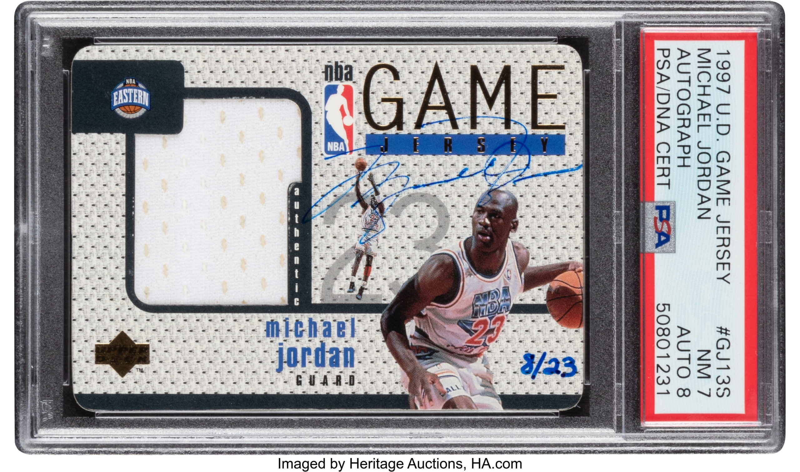 100 Packs Upper Deck Basketball Sticker Box 1997-98