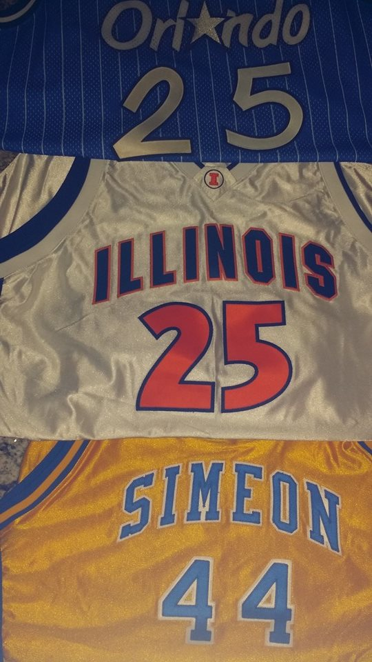 Nick Anderson game jerseys